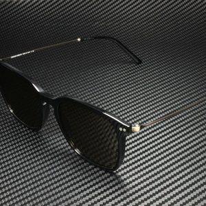 Giorgio Armani Men's Black and Brown Sunglasses!